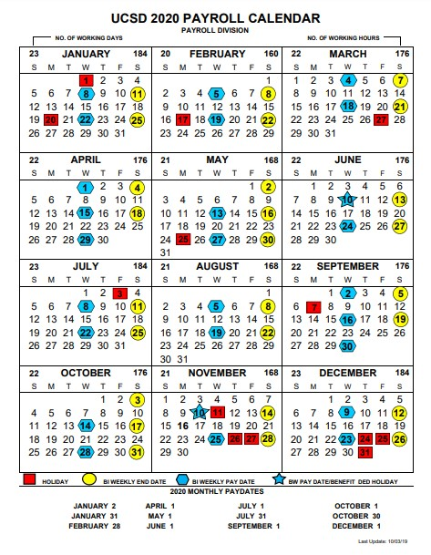 Ucsd Calendar 2021 Pay Period Calendar 2021 Ucsd | 2021 Pay Periods Calendar